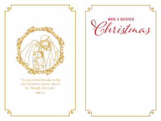 Inside of 2020 Christmas Cards