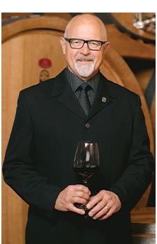 Dieter Unruh Wine Taster for Tastes of Heaven Gala